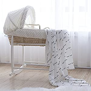 corn barn rattan Nersery bassinets Newborn Bed Infant Sleeping Basket Crib Cradle Baby Bed Hand Basket Chair Sleeping Basket