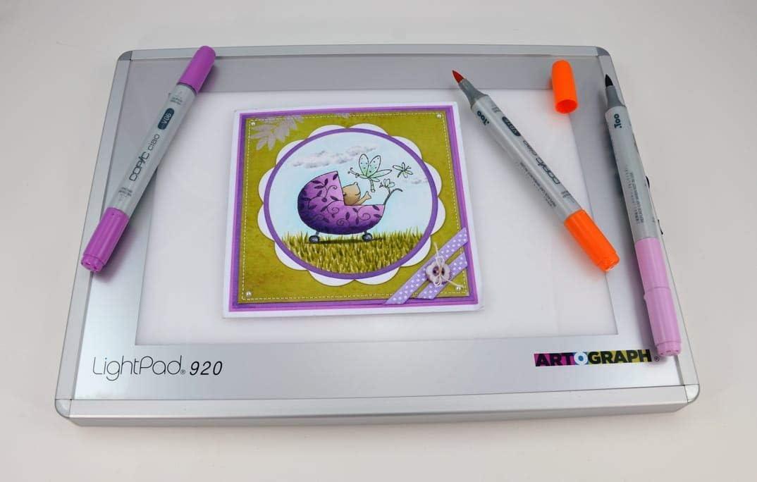 Artograph AR225-922 Lightpad A920 Tabla de luz Blanca de 15 x 23 ...
