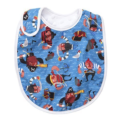 Baby Elephant Ears TUCK & TIDY Baby Bib (Baby Red - Coverage Triathlon