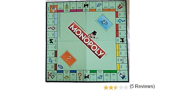 Monopoly Classic Replacement Board: Amazon.es: Juguetes y juegos