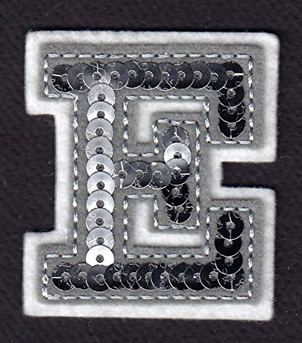 (LETTERS - Silver Sequin 2