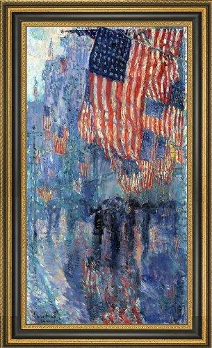 Frederick Childe Hassam The Avenue in the Rain - 15