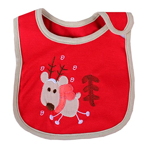 [Cartoon Newborns Infant 0-3 Years Baby Bibs Infant Saliva Towels Newborn Wear Burp Cloths] (Infant Racing Halloween Costume)