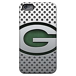 iphone 5 / 5s Protective cell phone skins Back Covers Snap On Cases For phone Excellent Fitted green bay packers