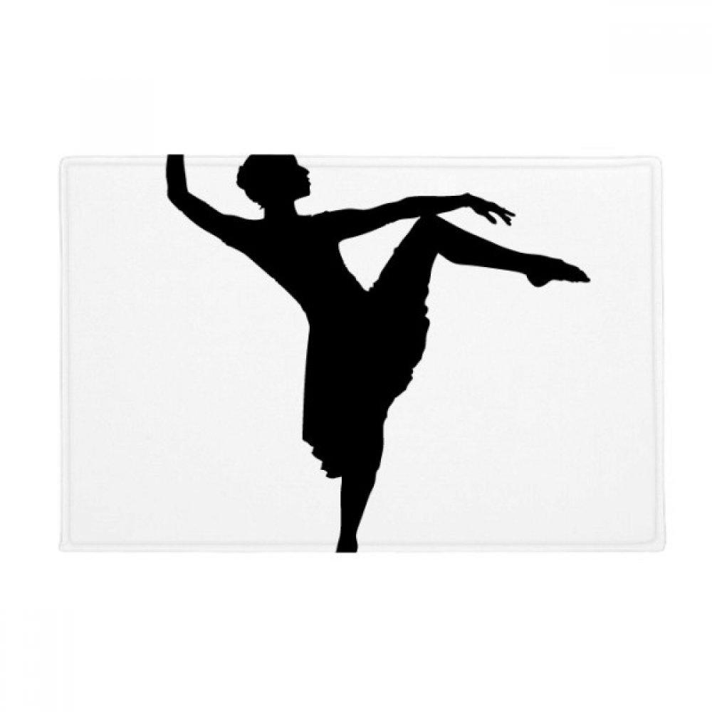 Dance Dancer Performance Art Sports Anti-slip Floor Mat Carpet Bathroom Living Room Kitchen Door 16''x30''Gift