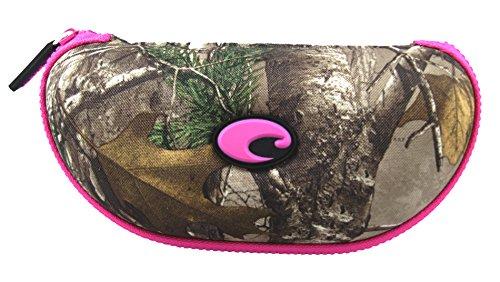 Costa Del Mar Zippered Hard Case (Medium, RealTree - Pink Del Sunglasses Mar Costa