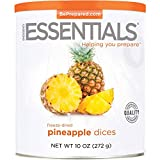 Emergency Essentials Freeze Dried Diced Pineapple - 10 oz