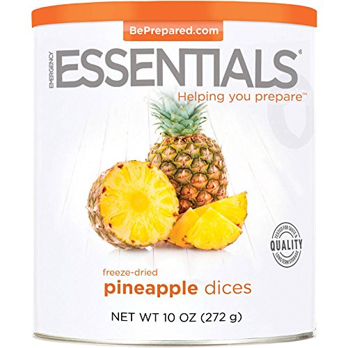 Emergency Essentials Freeze Dried Diced Pineapple - 10 oz by Emergency Essentials