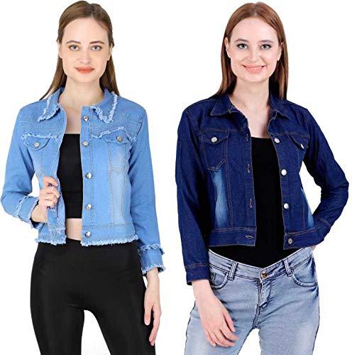 Full Sleeve Solid Women Denim Jacket