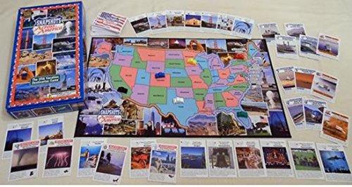 [해외]미국 홈 스쿨 Edition에 걸쳐 스냅 샷 역사적 랜드마크 카드를 포함 / Snapshots Across America HOMESCHOOL Edition Includes Historical Landmark Cards