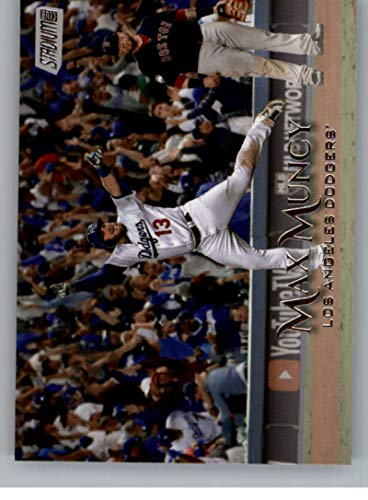 (2019 Stadium Club Baseball #101 Max Muncy Los Angeles Dodgers Official MLB Trading Card From Topps )