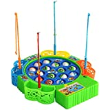 LW Fishing Game Mini Fishing Toy Colorful Fishing Game, Education Toy Set for Kids