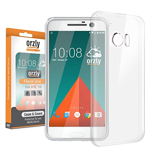 2 opinioni per Orzly®- FlexiCase per HTC 10 (2016)- Custodia Protettiva costruita con Qualità