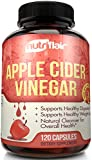 #10: Pure Apple Cider Vinegar Pills Extra Strength 625MG (120 VEGETABLE CAPSULES), Tested & Proven Results or Money Back - All Natural Non GMO Cider Capsules Supplement for Weight Loss, Detox & Digestion