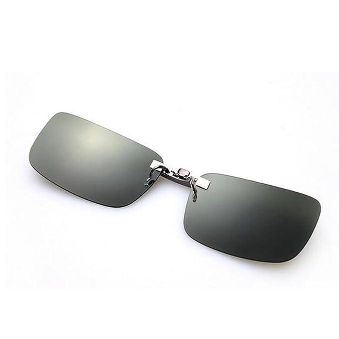 per polarizzate sole a occhiali clip Zimo unisex con da lenti 8qzwU