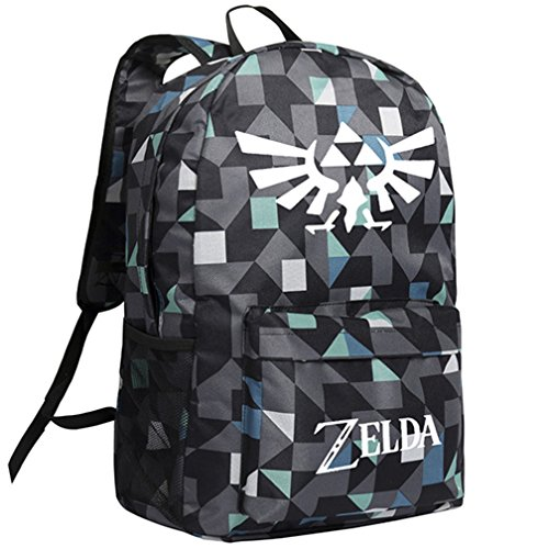 YOYOSHome Luminous Anime The Legend of Zelda Cosplay Bookbag College Bag Daypack Backpack School Bag (College Legends)