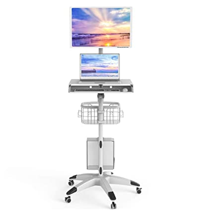 ZR Mesa de Pared- Escritorio Ajustable del Soporte del Ordenador Portátil, para Mesa de
