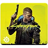 SteelSeries QcK Large Cyberpunk 2077 - Gaming Mouse Pad - 450 mm x 400 mm x 2 mm - Fabric - Rubber Base - Cyberpunk 2077…