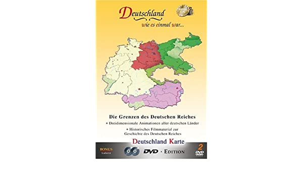 Amazon Com Deutschland Karte Map Of Germany Third Reich