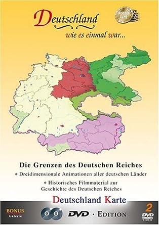 Amazon.com: Deutschland Karte (Map of Germany): Third Reich ...