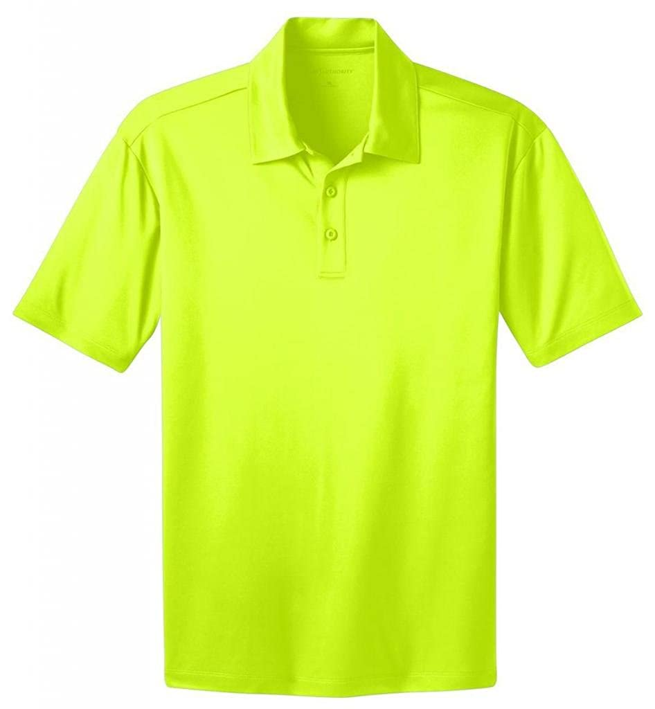 Port Authority Mens Tall Silk Touch Performance Polo Shirt Size Lt