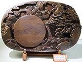 Chinese Zhaoqing Duan Yan Song Keng Ink Stone Gusongxiandao Large Size Inkstone 38x24x8cm Natural Stone