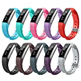 AIUNIT Fitbit Alta and Alta HR Bands, Newest Accessory Band...