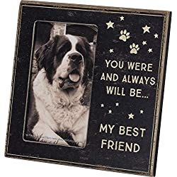 Primitives by Kathy Photo Frame Pet Memorial You were and Always Will Be My Best Friend - 6 inch x 6 inch