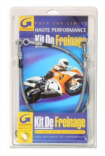 Goodridge –  Kit Flexible de freno –  trasera –  cromado –  Moto Honda –  CBR 600 RR PC37 –  Añ o 2003 a 2006 GDHN0615-1RC