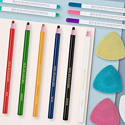 Professional Tailors Chalk Triangle Tailors Fabric Marker Chalk Sewing Notions /& Accessories(20 Pack)