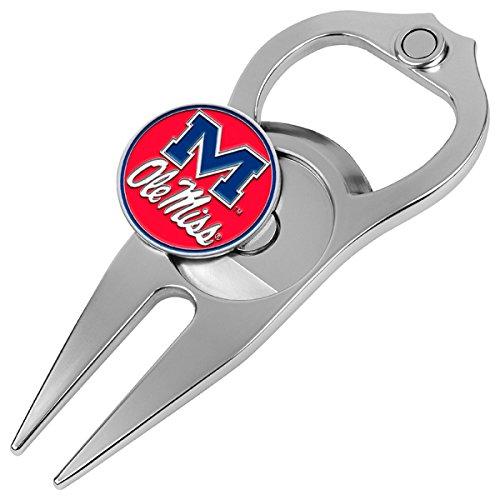 NCAA Mississippi Rebels - Ole Miss - Hat Trick Divot Tool