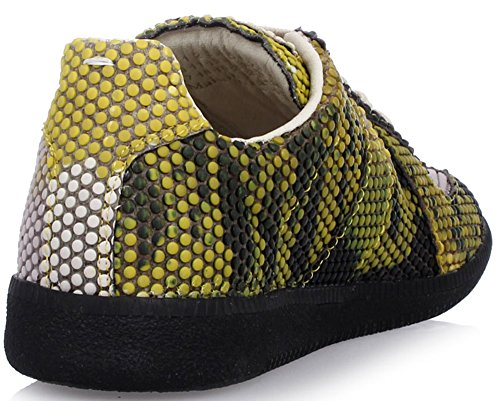 Maison Margiela Tpu Geïnjecteerde Low-top Sneaker (replica Lamsvacht En Kalfssplit) 8 Us; 40 Het