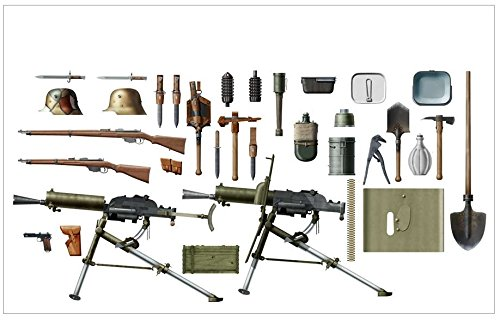 ICM Models WWI Austro-Hungarian Infantry Weapon and Equipment Building Kit (Best Weapons Of Ww1)