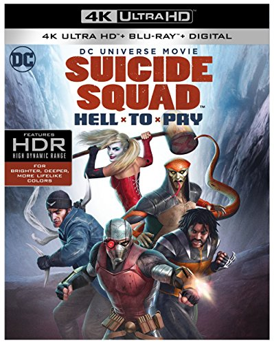 4K Blu-ray : Suicide Squad: Hell To Pay (With Blu-Ray, 4K Mastering, 2PC)