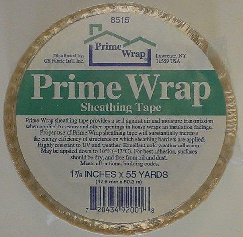 prime-wrap-1-7-8-inch-x-55-yard-white-sheathing-tape-item-prtape-17855