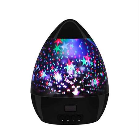 ZGY Proyector Luminoso, 10 Color Tiempo Estrellado Cielo Fantasía ...