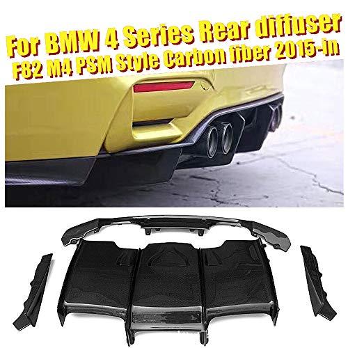 Semoic 2 Pcs Universal Aluminium Alloy Rear Bumper Race Air Diversion Diffuser Panel Car Styling