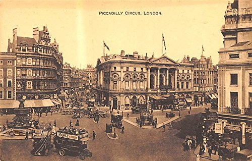 Piccadilly Circus London United Kingdom, Great Britain, England Postcard