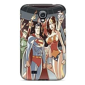 Hot Design Premium QaQeX4851-KDj Tpu Case Cover Galaxy S4 Protection Case(jla)