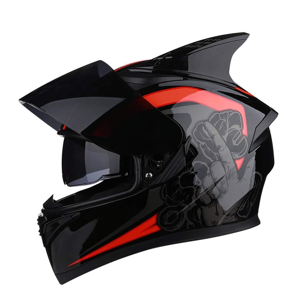 『2年保証』 ダブルレンズヘルメットモトクロスフルフェイスヘルメット取り外し可能な裏地付きマウンテンバイク乗馬用ヘルメット (色 XXXL) : J j, : サイズ さいず : j XXXL) B07PF3MJLN XX-Large|J j J j XX-Large, ネットショップ エムケー:36ffc2a1 --- a0267596.xsph.ru