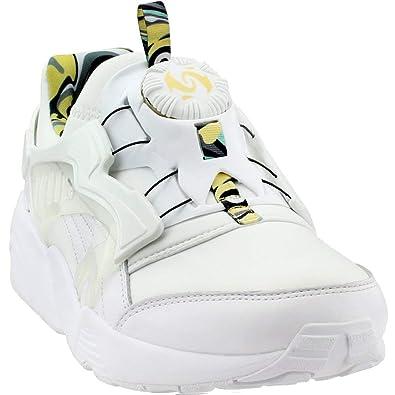 654ac5621610 Puma Men s Disc Blaze Minions White Minion Yellow Ankle-High Fashion Sneaker  - 11.5