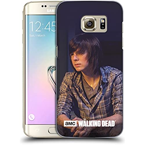 Official AMC The Walking Dead Carl Filtered Characters Hard Back Case for Samsung Galaxy S7 edge Sales