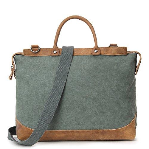 mefly Men 's Casual Bolsa de viaje de gran capacidad bolso bolsa de viaje para hombres, caqui verde militar