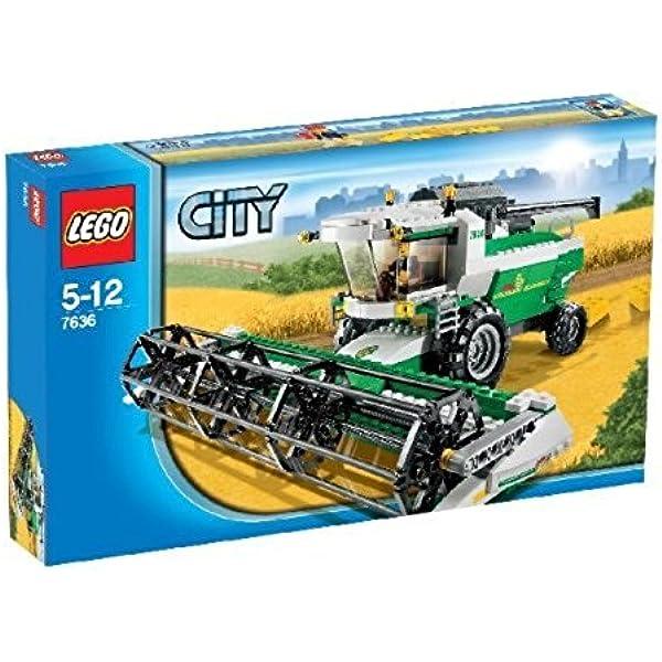 Amazon Com Lego 7636 City Combine Harvester City Combine Toys Games