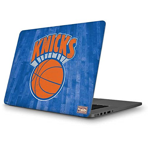 Skinit NBA New York Knicks MacBook Pro 13 (2013-15 Retina Display) Skin - New York Knicks Hardwood Classics Design - Ultra Thin, Lightweight Vinyl Decal Protection by Skinit