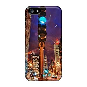 BestSellerWen Cute High Quality For HTC One M8 Phone Case Cover City Lights In Motion Hdr Case