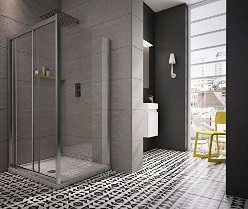 revron deslizante de ducha Puerta cristal vidrio templado premium ...