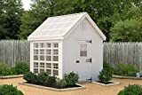 Cheap Little Cottage Company Colonial Gable Greenhouse Panelized Playhouse Kit, 10′ x 12′