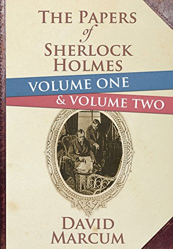 The Papers of Sherlock Holmes Volume 1 and 2 Hardback Edition