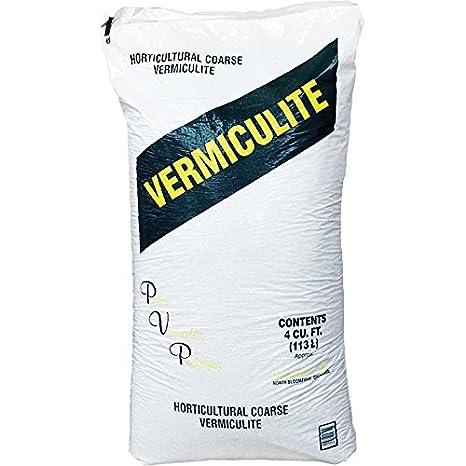 Amazon Com Coarse Vermiculite 4 Cubic Foot Bag Garden Outdoor